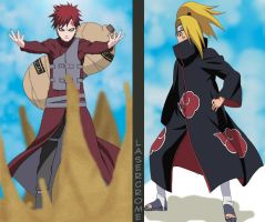 :The Kazekage Stands Tall: by laserCrome