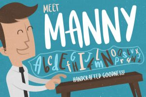 Meet Manny Typeface by Layerform