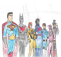 Neo Justice League by superiornite