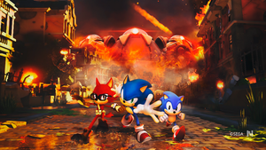 Sonic Forces - Wallpaper by NathanLaurindo