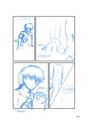 ''The 25th Hour'' - comic panel sample w.i.p. by 2Grizabella7