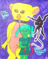Old Art: Vendetta's Pets by SpellboundFox