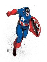 Captain America 3 by JasonCopland