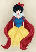 SNOW WHITE by ZNsnowbell4