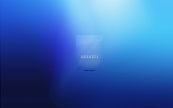 Blue Ubuntu by astoyanov
