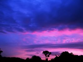 Pink and Purple Sunset 3 by richardxthripp
