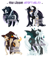 My Little Adoptables: More Spoopy?! [Closed!] by riddlish