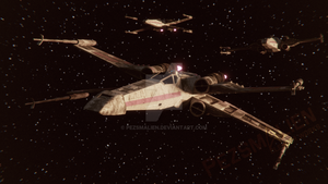 Rogue Squadron! Ready for attack! by PezsmAlien