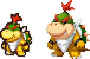 PIT Baby Bowser in DT Style by magicofgames