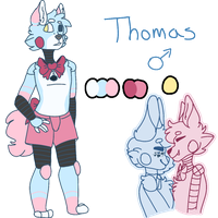 Toy Bongle Child Thomas -redesign- by ToXXicArtist