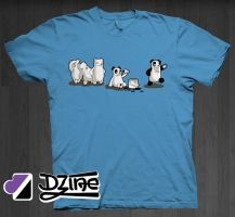 I Wanna Be A Panda by DzineClothing
