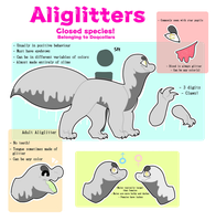 Aliglitters - Simple Species ref by DoqCollars