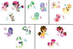 5 Commish Shippings [OPEN] by Starleay120