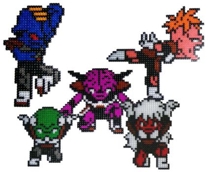 Ginyu Force Sprites by Snukastyle