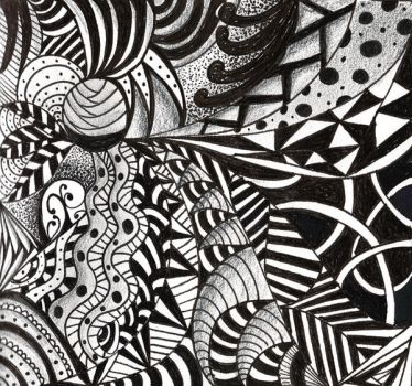 Zentangle2 by savajam