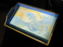 Winged Horse Tea Tray by Relotixke