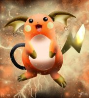 Shiny Raichu by Joana-the-Raichu