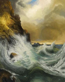 Master Study-The Receding Wave by sgl17