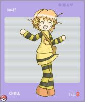 Pokemon 415: Combee by jigglysama