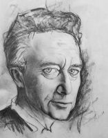 First portrait drawing by ProfessorPicasso