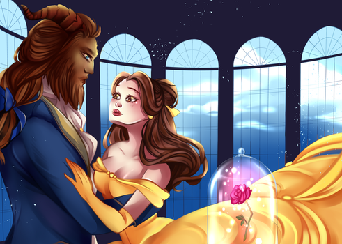 Beauty And The Beast by RavenMomoka