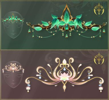 Diadems adopts 11 (CLOSED) by Rittik-Designs