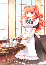 Maid girl~ by Trianon-dfc