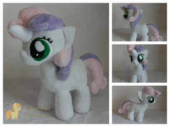 Sweetie Belle Plushie by BassPlushProductions