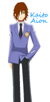Kaito Aion (Ouran High oc) by Chibi-Butler-Snake