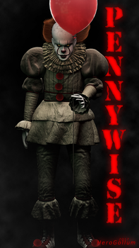 Pennywise, the Dancing Clown! by HeroGollum