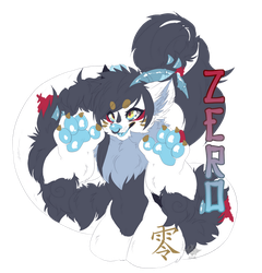 [Commission] Badge Zero by machatoune