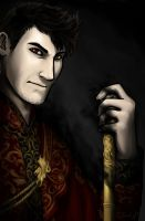 King Darkiplier....again :D by Yoru-kage12