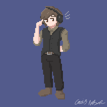 Pixel Caius by CaiusNelson