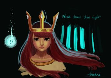 Child of Light - Woods darker than night by ArinceWang