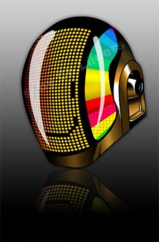 Daft Punk Helmet by Fleischparade