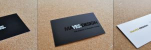 Business Card Mayes Design by BonZipper