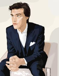 Vector Portrait (Finn Wittrock) by huskiezlover