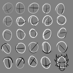 Iterative Drawing Practice 2 by TheadoraWolf