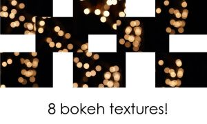 Bokeh texture pack by bellalleb-stock