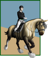 RWS Dressage by lionsilverwolf