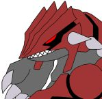 'Corrupted' Groudon by GEORDINHO