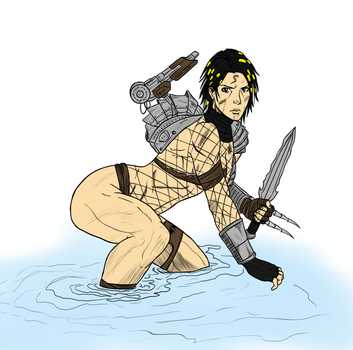 AVP huntress by TheReaper111