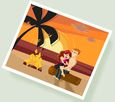 Total Drama - Beach Lovers by Little-White-Boots