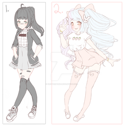 (closed) Dark and Light Adopt Auction by CritterPunk