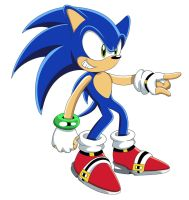 Sonic X shading test by footman