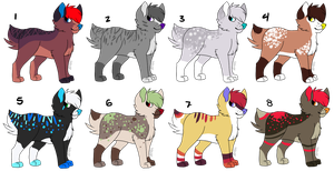 Adoptable Batch 2 [OPEN] - [4/8] by blankboopies