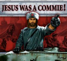 Jesus was a commie by fbarok