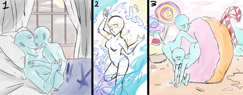 Assorted YCH [OPEN 1/3] by Adorkedable