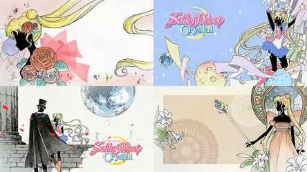 Sailor Moon Crystal Wallpapers by TsukineSara