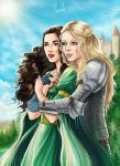 Morgana and Morgause by Autumn-Sacura